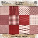 "TH93626 Tim Holtz® Idea-ology™ Kraft Stock Cardstock Pad 8""X8"" 24/Pkg Christmas"